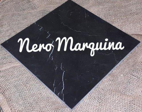 Мраморная плитка Неро Маркина